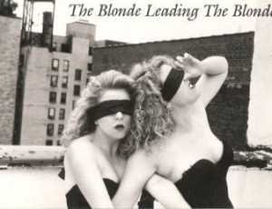 The Blonde Leading The Blonde