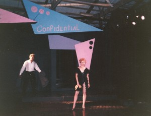 "As Dorothy, ""Nite Club Confidential"""