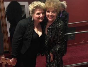 Tanya Moberly with KT Sullivan at The 28th New York Cabaret Convention