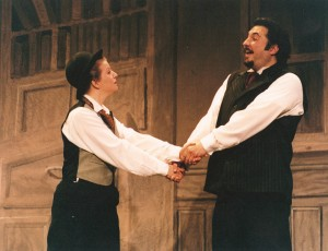 "As Drood, ""The Mystery of Edwin Drood"""