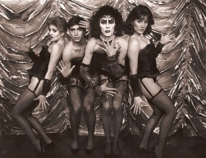 "As Columbia, ""Rocky Horror Picture Show"""