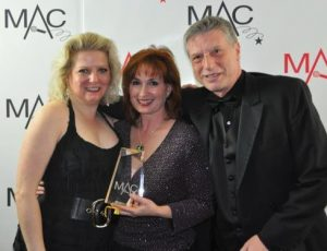 Tanya, Raissa & Mark – 2010 MAC Award Winners