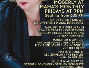 MOBERLY AT MAMA'S MONTHLY – SEALS & CROFTS / CAT STEVENS / CROSBY, STILLS, NASH & YOUNG – WITH SEAN HARKNESS FEBRUARY 2020