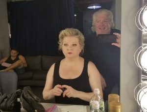 Back Stage at BRIC with Tym Moss October 2018